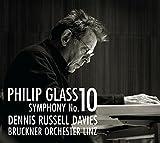 Glass: Sinfonie 10 / Konzertouvertüre (2012) - Dennis Russell Davies