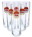 Früh Kölsch Biergläser/Gläser/Stangen Set - 6x 0,2l
