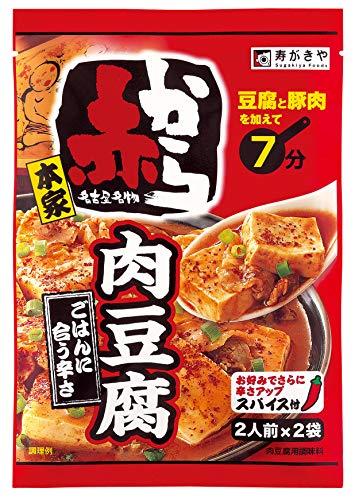 寿がきや食品 赤から監修 赤から肉豆腐の素 92g×10袋