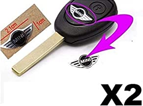 Pegatina de 20 mm con el logo de Mini Cooper para llave a distancia