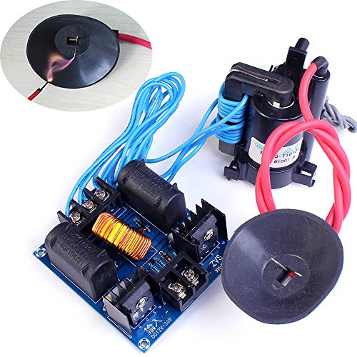 Icstation DC 12-30V High Voltage Arc Generator ZVS Flyback Driver Kit for SGTC Marx Generator