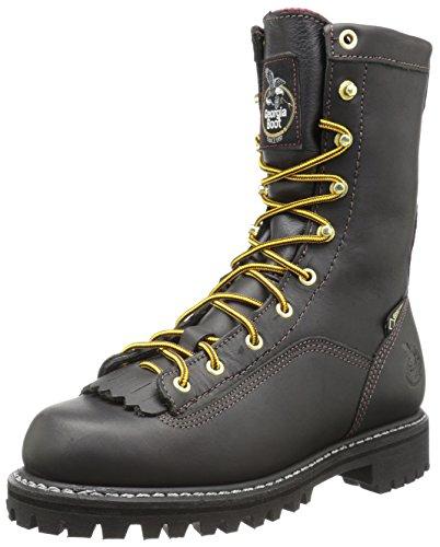 Georgia Men's G8040 Mid Calf Boot, Black, 7.5