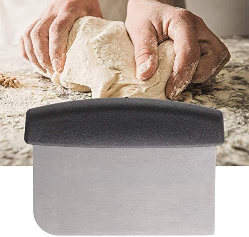 Raspador de plancha de acero inoxidable para el hogar Cortador de plancha de corte para pan Pizza Masa Utensilio de cocina multiusos