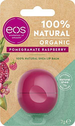 EOS 100% NATURAL SHEA LIP BALM POMEGRANATE RASPBERRY 7 GR
