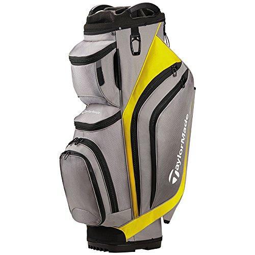 TaylorMade Supreme Cart Golf Bag Gray/Yellow