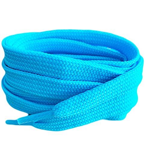 Luz de color azul soporte de cordones para zapatillas Converse botas de...