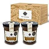 Med Cuisine Chocolate Tahini Spread - Pasta De Sésamo Con Cacao En Polvo - Tahini Vegano 100% Natural - Semillas De Sésamo Tostadas - Sin Gluten - Keto Y Paleo Dieta - Súper Alimento Para Untar