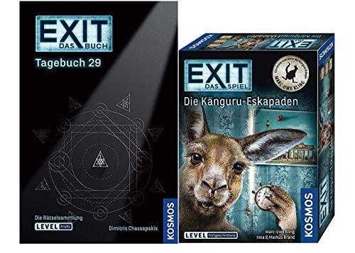 EXIT - El juego - Die Känguru-Eskapaden de Marc-Uwe Kling Libro, Diario 29, Nivel: Avanzado
