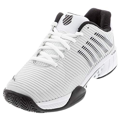 Product Image 1: K-Swiss Men's Hypercourt Express 2 Tennis Shoe (Barley Blue/White/Black, 10)