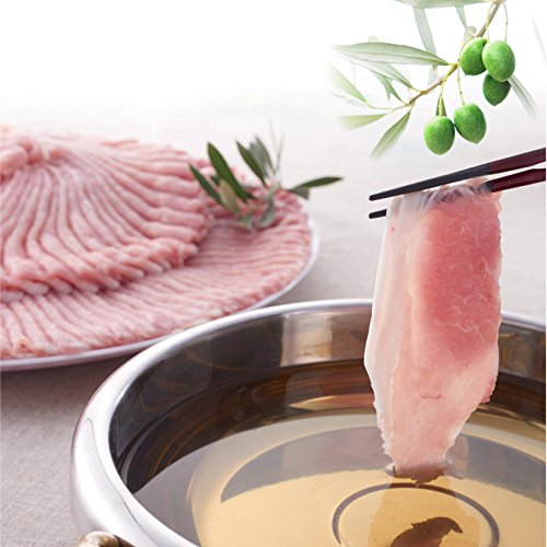 オリーブ豚ローススライス1kg 《*冷凍便》