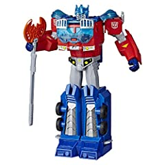 Choose your side: join the mighty Autobots or the destructive Deceptions Most Transformers toys feature awesome weapons and cool converting features Collect cool converting characters from the show Transformers: Robots in disguise Relive the original...