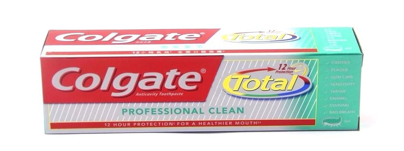 無駄にスポークスマン仕立て屋Colgate Total Professional Clean 160g  コールゲート トータル プロフェッショナル クリーン  160g