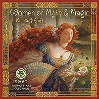 Women of Myth & Magic 2020 Fantasy Art Wall Calendar【洋書】 [並行輸入品]