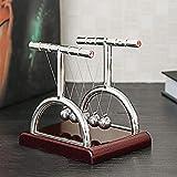 Masun Newton's Cradle Balance Bälle Physik Wissenschaft Pendel Schreibtisch Spaß Spielzeug