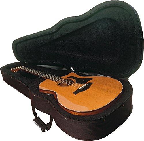 Astuccio semi-rígido per chitarra acustica con forma dreadnough