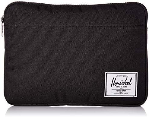 Herschel Anchor Sleeve for MacBook iPad Solid Black 13 Inch New product image