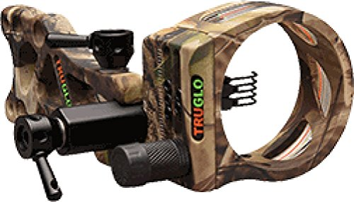 "TruGlo TSX Pro Series 5-Pin Sight Tool-Less .019"" LOST Camo"