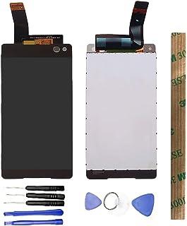JayTong - visualización LCD y digitalizador de visualización táctil de Repuesto para Xperia C5 Ultra LTE E5533 E5553 E5506 E5563 Blanco