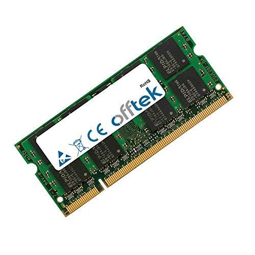 OFFTEK 2GB Ersatz Arbeitsspeicher RAM Memory für Asus Eee PC 904HD XP (DDR2-6400) Laptop-Speicher