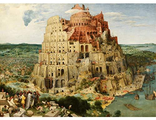 Puzzles Cuban Babylon Tower - Holzpuzzle, 1000 Stück, Außenformat 30x 20inch Holz Premium Qualität