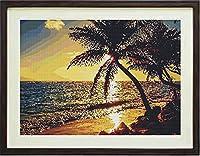 ダイヤモンドアート 塗装手芸キット ビーチの風景 60x90cm