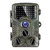 WYYHAA Wildkamera Fotofalle Mit Bewegungsmelder/Hinterkamera 20MP 1080P HD Tier-Jagd-Cam Mit 120 ° Weitwinkel 98Ft Erfassungsbereich 46 Pcs LED 0.2S Trigger-Geschwindigkeit 2.4' LCD