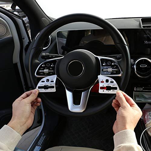 Für Benz A B C E Klasse W177 W247 W205 W213 GLA X156 GLB X247 GLC X253 GLS X167 CLA W118 EQC 2020 2021 Auto Lenkrad Tasten Pailletten Dekoration Aufkleber