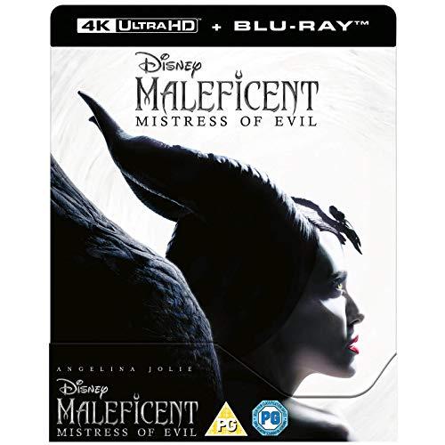 Maleficent Mistress of Evil 4K, Steelbook, Zavvi exklusive, Blu-ray 4K UHD mit deutschem Ton + Blu-ray (ohne deutschen Ton), Uncut, Regionfree