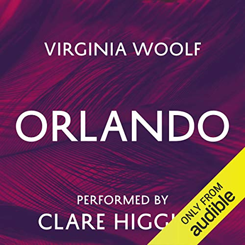 Orlando audiobook cover art