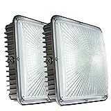 70W LED Canopy Lights,2 Pack,8400 Lumens 5500K White,9.5' x...