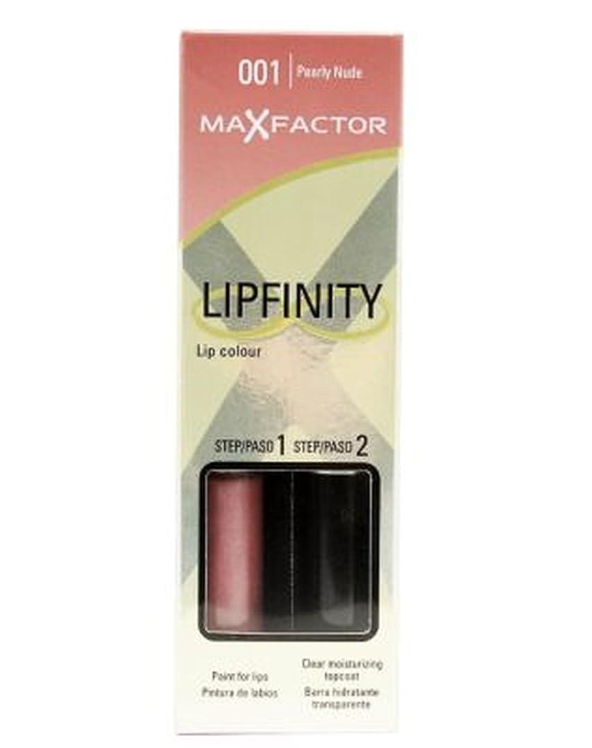 シアー終わりシェフマックスファクターのLipfinityは口紅をヌード (Max Factor) (x2) - Max Factor Lipfinity Nudes Lipstick (Pack of 2) [並行輸入品]