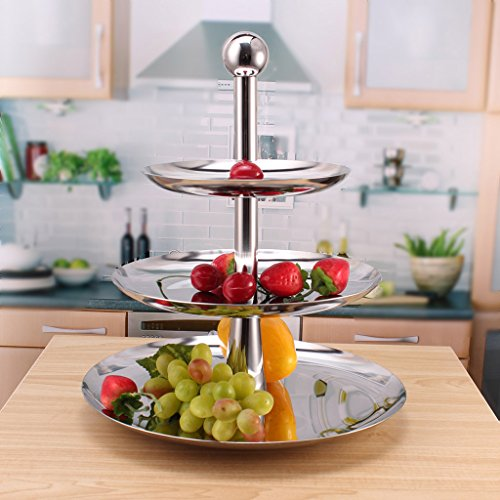 3 dieren roestvrij stalen fruitborden, moderne mode creatieve Europese Amerikaanse tv-hotel Home zilver fruitmand