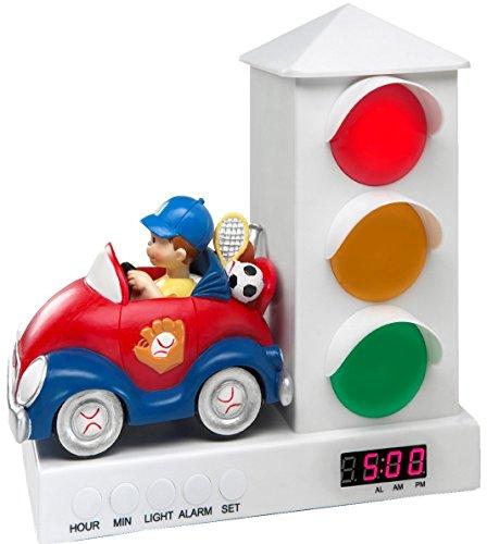 Custom Quest Boy Car Stoplight, Alarm Clock for Kids