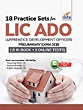 18 Practice Sets for LIC ADO (Apprentice Development Officers) Preliminary Exam 2019 with 3 Online Tests