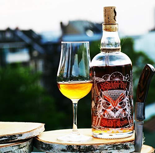 Blackforest Wild Rum Barrique 42% Vol. (1 x 0.5 l) - Brennerei Wild aus Gengenbach - Weltneuheit aus dem Schwarzwald - Deutscher Rum der Extraklasse - 2