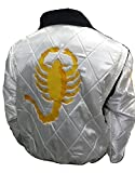 Bestzo Chaqueta Ryan Gosling Famous Drive Scorpion para hombre, talla XS-5XL