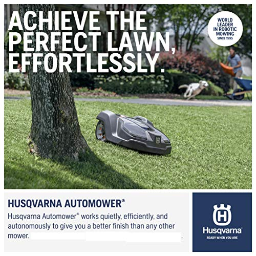 Husqvarna 967646405 Automower 450X Robotic Lawn Mower, 1.3 acre...