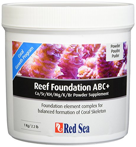 Red Sea Fish Pharm ARE22007 Reef Foundation Salt Water Conditioners for Aquarium, 1kg