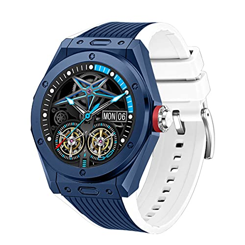 Fhdisfnsk MV58 Sport Smart Watch para Hombres, IP68 Impermeable Bluetooth Fitness Activity Tracker con Monitor de Frecuencia Cardíaca/Presión Arterial SmartWatch para iOS Y Android