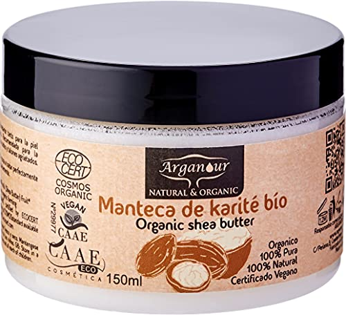 Arganour Shea Butter Face, Body & Hair Tratamiento Corporal - 150 ml
