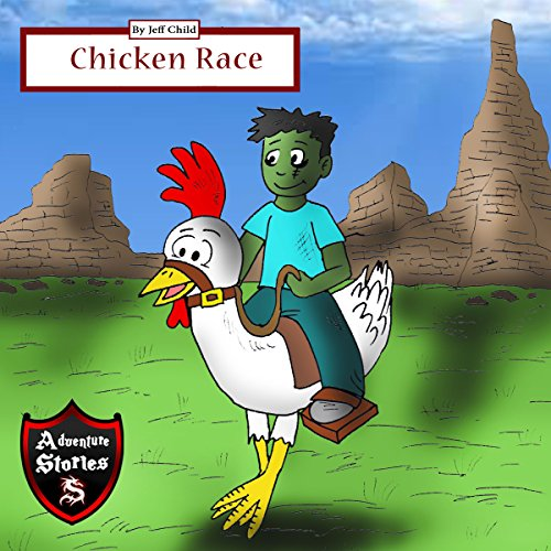 Chicken Race: Diary of a Running Chicken audiobook cover art