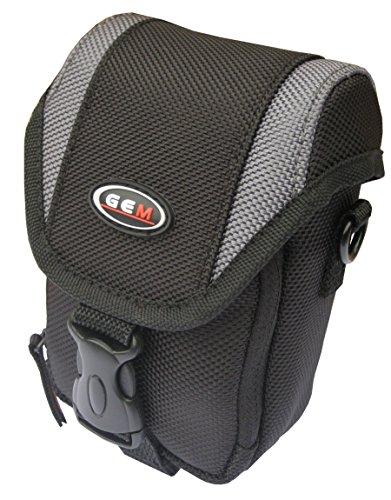 GEM - Funda para cámara Panasonic Lumix DC-ZS70, DC-TZ90, con correa de liberación rápida para cinturón y correa para el hombro