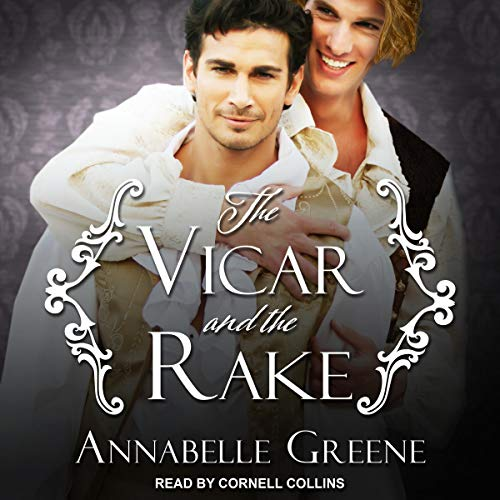 The Vicar and the Rake  By  cover art