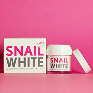 Snail White Cream Facial Recovery Filtrate Secretion Moisture Acne Skin Care 50g - Anti Wrinkle / Skin Lightening