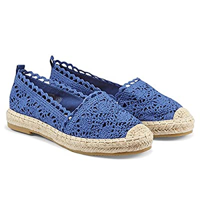 casuel Women's Espadrille Flats, Slip Ons Snea...