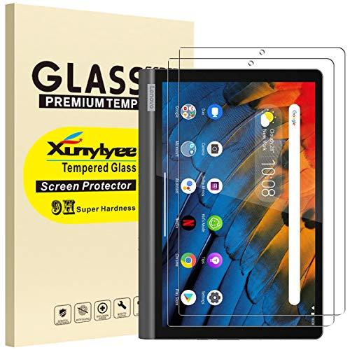 XunyLyee [2 pezzi] Compatibile Con Lenovo Yoga Smart Tab Pellicola Protettiva, 2,5D Vetro Temperato Pellicola per Lenovo Yoga Smart Tab YT-X705 2019 (10.1 pollici)