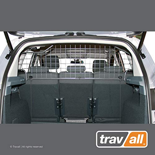 Travall Guard Hundegitter Kompatibel Mit Ford C-Max 2010-19 Energi Plug In Hybrid 2012-19 TDG1304 - Maßgeschneidertes Trenngitter