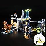 CZA La luz LED compone el Kit de Lego 75927 Stygimoloch Breakout Juguetes Set de iluminación con Compatile 39112 10922 (no Incluye el Modelo)