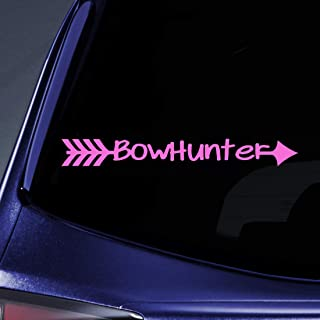 Bargain Max Decals - Bow Hunter Bow Deer Hunter Hunting Sticker Decal Notebook Car Laptop 8