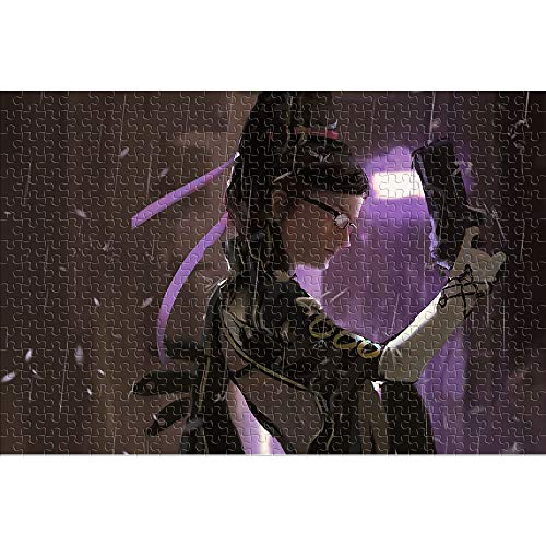 CHDBB Rompecabezas 1000 Piezas paraadultos Bayonetta Bayonita Rompecabezas Imposible in-Game Character Juguete de Rompecabezas de Piso Rompecabezas 38x26cm